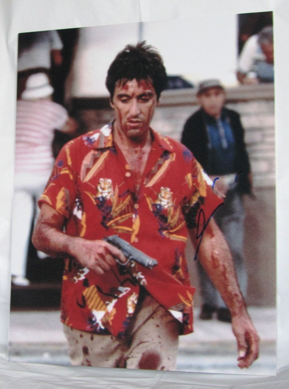 A675ap al pacino signed scarface signed photo for Occhiali al pacino scarface