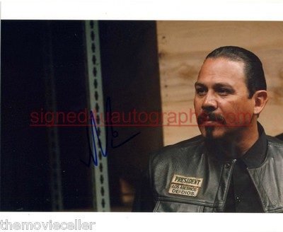 EMILIO RIVERA SIGNED MARCUS ALVAREZ 'SONS OF ANARCHY' SIGNED 8x10 o/a